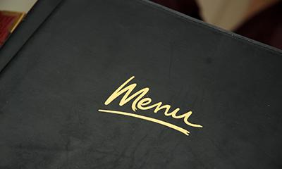 Ons menu